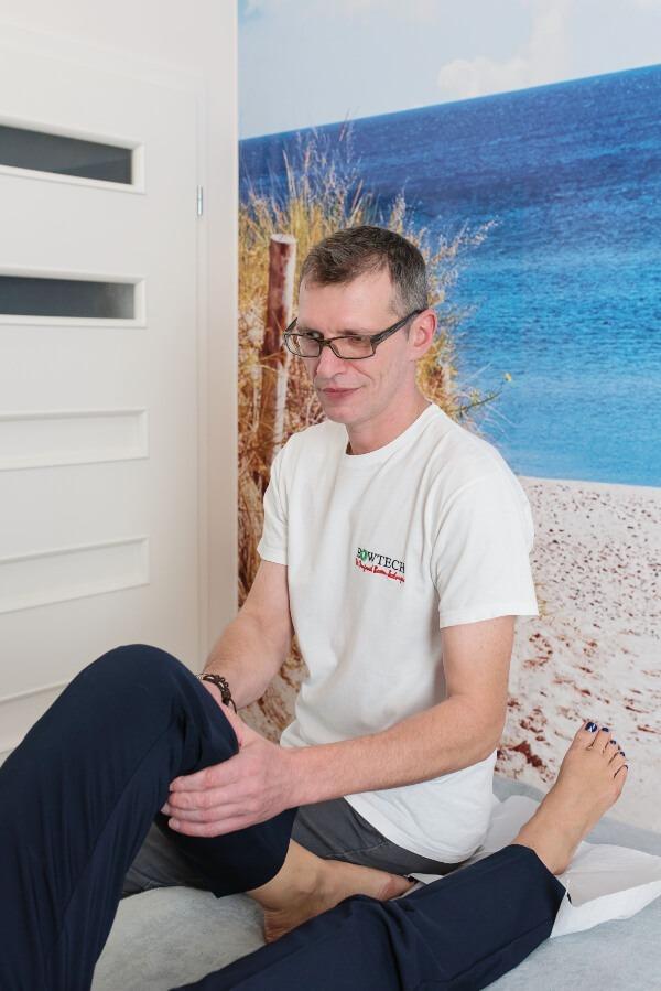 Masaż techniką bowena w Gabinecie Cosmet w Mińku Mazowieckim